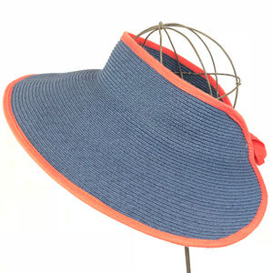 Cappelli Straw Vintage Hat NWT Nautical